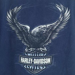 Harley Davidson New York Short Sleeve T Shirt Lg